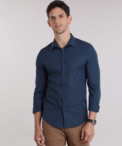 Camisa-Slim-Listrada-Azul-Marinho-8829771-Azul_Marinho_1