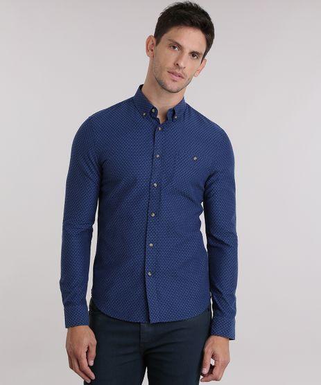 Camisa-Slim-Bordada-Azul-Marinho-8841642-Azul_Marinho_1