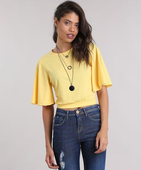 Blusa-Cropped-Canelada-Amarela-8977202-Amarelo_1