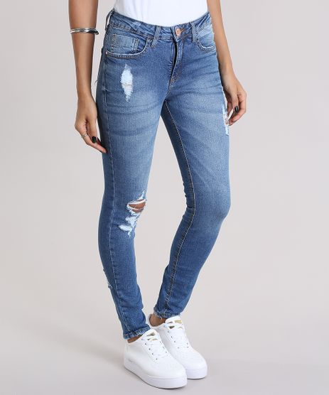 Calca-Jeans-Super-Skinny-Destroyed-Azul-Medio-8997191-Azul_Medio_1