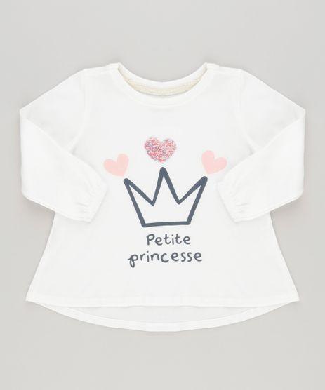 Blusa--Petite-Princesse--em-Algodao---Sustentavel-Off-White-9030146-Off_White_1