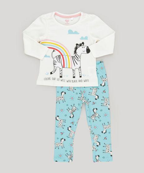 Conjunto-de-Blusa--Zebra--Off-White---Calca-Legging-Estampada-em-Algodao---Sustentavel-Azul-9031767-Azul_1
