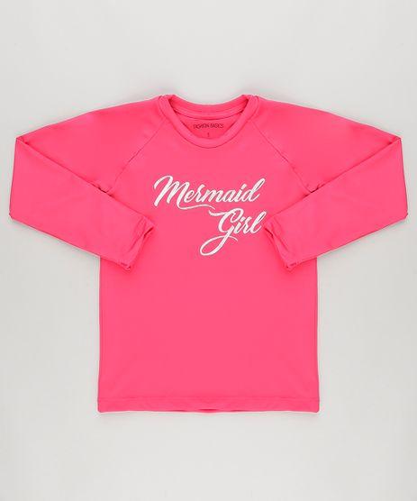Blusa--Mermaid-Girl--com-Protecao-UV50--Rosa-Escuro-9035848-Rosa_Escuro_1