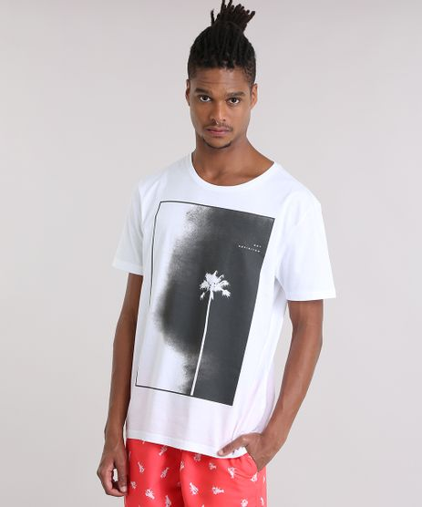 Camiseta-com-Estampa-de-Coqueiro-Branca-8908417-Branco_1
