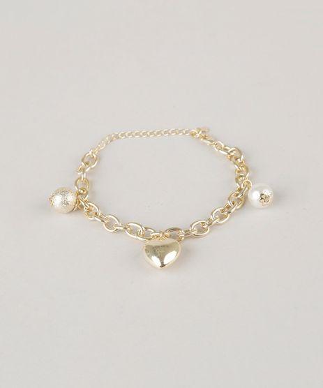 Pulseira-com-Pingentes-Dourado-8429106-Dourado_1