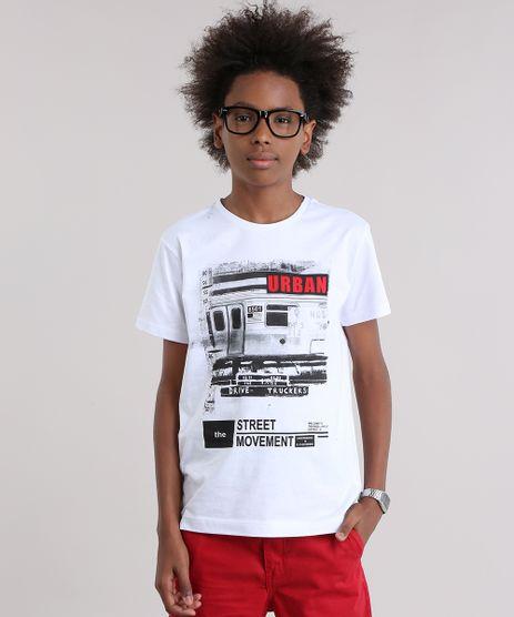 Camiseta--Urban-Street-Movement--em-Algodao---Sustentavel-Branca-9038008-Branco_1