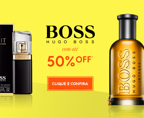 Banner Carrossel - Hugo boss