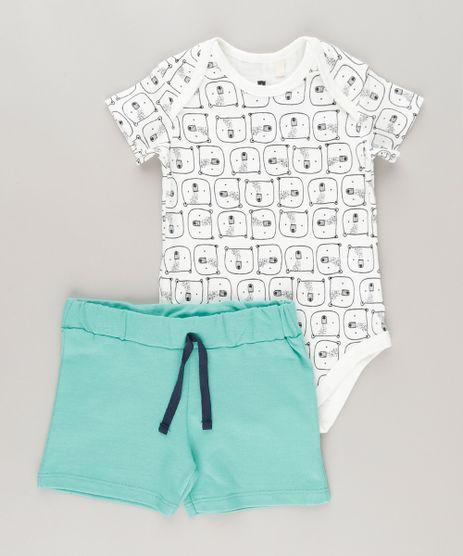 Conjunto-de-Body-Estampado-de-Ursos-Off-White---Bermuda-Verde-9064371-Verde_1