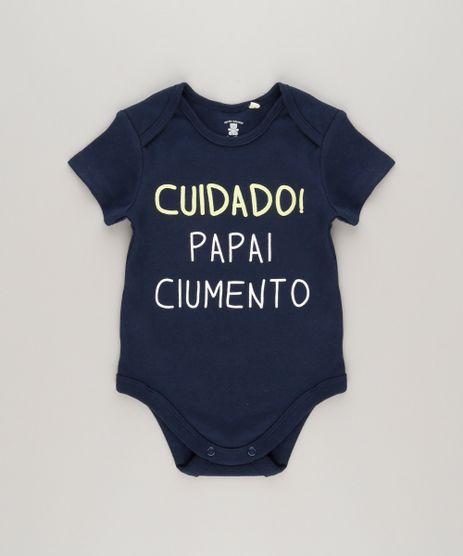 Body--Cuidado--Papai-Ciumento--em--Algodao---Sustentavel-Azul-Marinho-8809810-Azul_Marinho_1