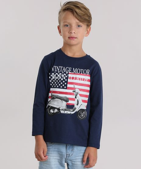Camiseta--Vintage-Motor-Born-To-Ride--Azul-Marinho-9033230-Azul_Marinho_1
