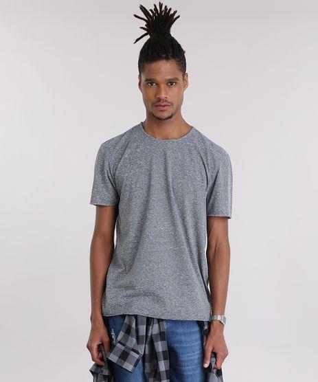 Camiseta-Basica-Flame-Listrada-Cinza-Mescla-Escuro-9011045-Cinza_Mescla_Escuro_1