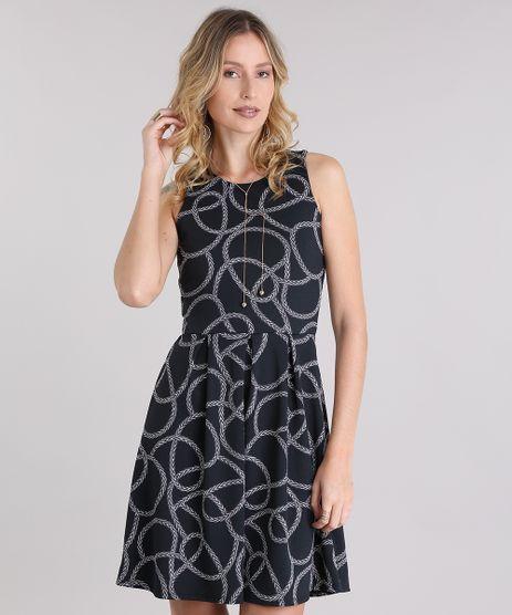 Vestido-Estampado-de-Cordas-Preto-8954176-Preto_1