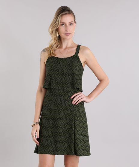 Vestido-Estampado-Geometrico-com-Argolas-Verde-Militar-8968708-Verde_Militar_1