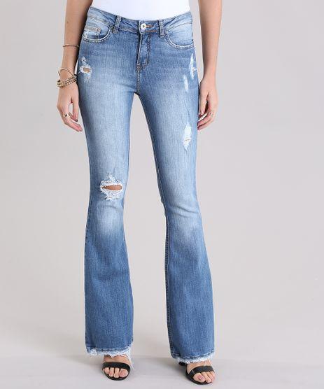 Calca-Jeans-Flare-Destroyed-Azul-Medio-9011561-Azul_Medio_1
