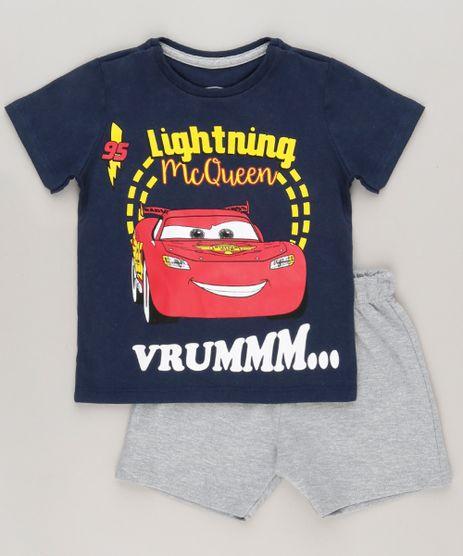 Conjunto-de-Camiseta-Azul-Marinho---Bermuda-Carros-Cinza-Mescla-9029863-Cinza_Mescla_1
