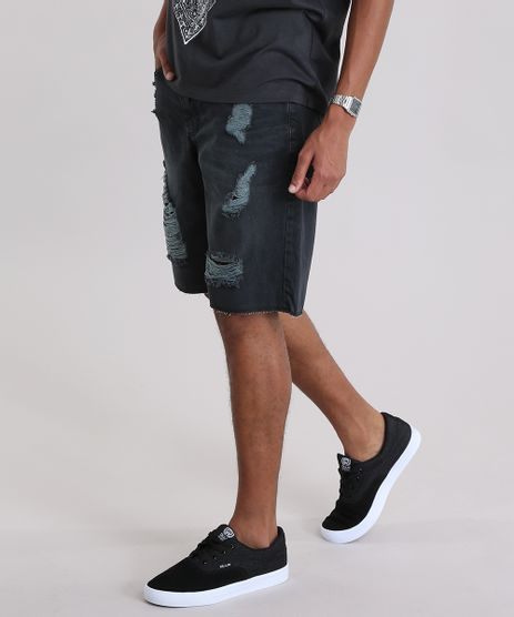 bermuda-jeans-Reta-destroyed-preta-Preta-8954141-Preto_1