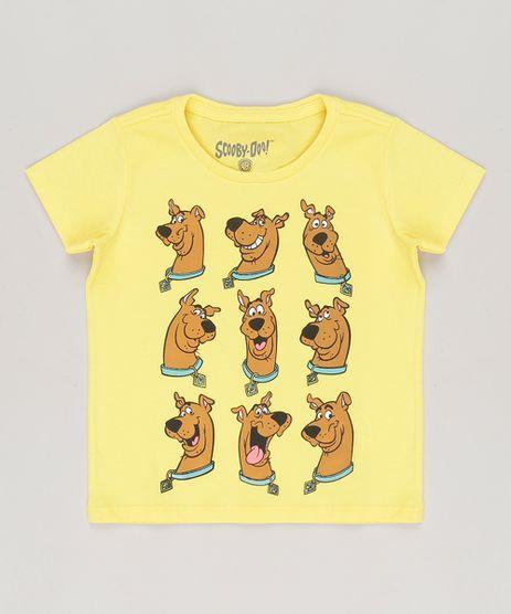 Camiseta-Scooby-Doo-em-algodao---sustentavel-Amarela-8378819-Amarelo_1
