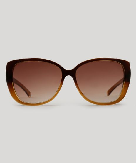 Oculos-de-Sol-Gatinho-Feminino-Oneself-marrom-8607092-Marrom_1