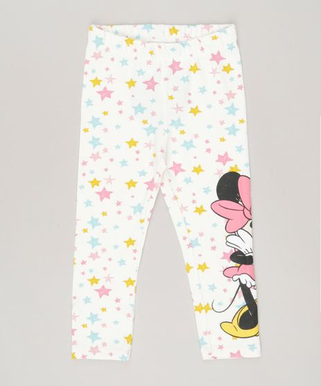 Calca-Legging-Estampada-Minnie-em-algodao---sustentavel-Off-white-9046985-Off_White_1