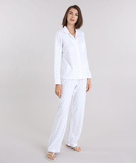 Pijama-em-Suede-Estampado-Poa-Branco-8875810-Branco_1
