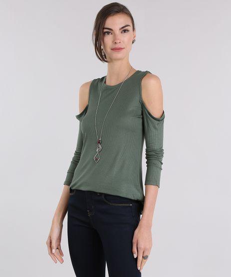 Blusa-Canelada-Open-Shoulder-Verde-Militar-9034564-Verde_Militar_1