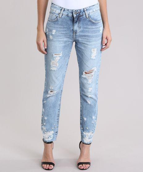 Calca-Jeans-Reta-Destroyed-Azul-Claro-9014207-Azul_Claro_1
