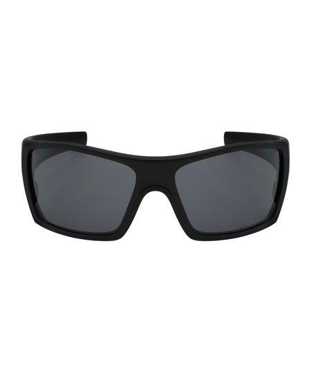 55156b8bf Óculos de Sol Oakley Batwolf OO9101 - Matte Black/Grey Polarized ...