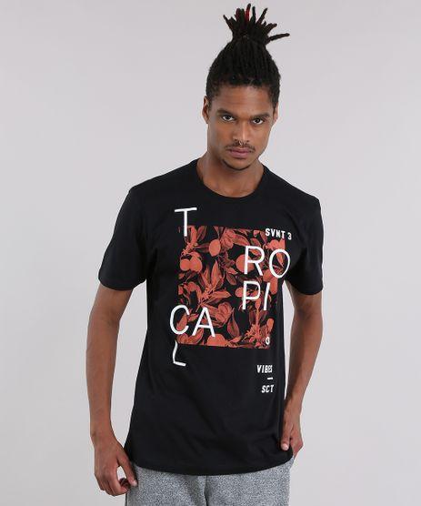 Camiseta--Tropical--com-Estampa-Floral-Preta-9084098-Preto_1