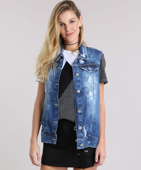 Colete-Jeans-Destroyed-Azul-Medio-9011563-Azul_Medio_1