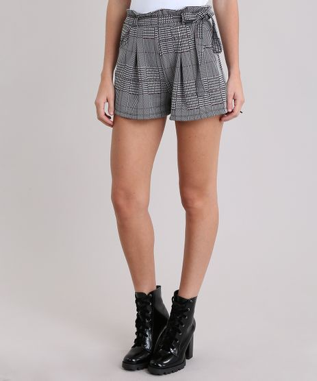 Short-Clochard-Estampado-Xadrez-Preto-9046750-Preto_1