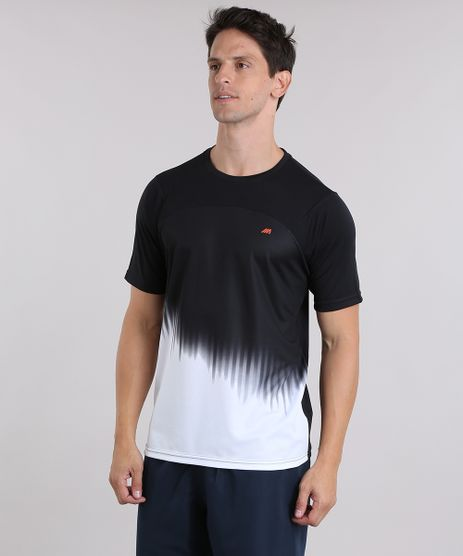 Camiseta-Ace-de-Treino-com-Estampa-Degrade-Preta-9011344-Preto_1