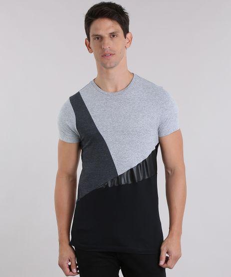 Camiseta-com-Recortes-Geometricos-Cinza-Mescla-8999139-Cinza_Mescla_1