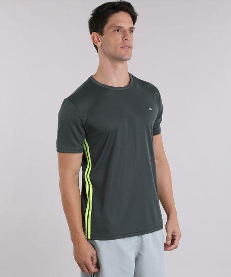 Camiseta-Ace-de-Treino-com-Listras-Laterais-Verde-Escuro-9111098-Verde_Escuro_1