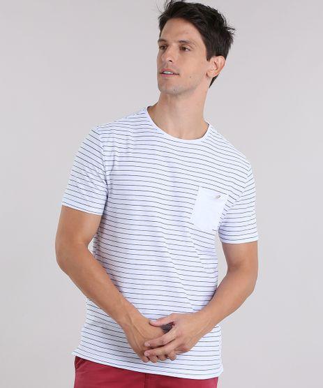 Camiseta-Listrada-com-Bolso--Branca-9028741-Branco_1