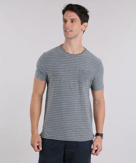 Camiseta-Listrada-com-Bolso--Cinza-Mescla-Escuro-9028747-Cinza_Mescla_Escuro_1