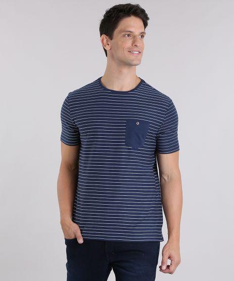 Camiseta-Listrada-com-Bolso--Azul-Marinho-9028753-Azul_Marinho_1