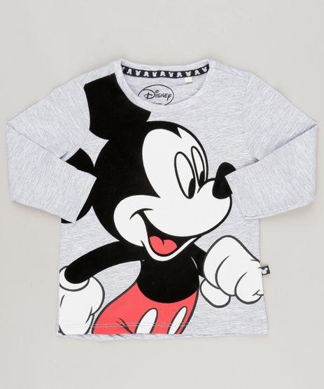 Camiseta-Mickey-Cinza-Mescla-9038237-Cinza_Mescla_1
