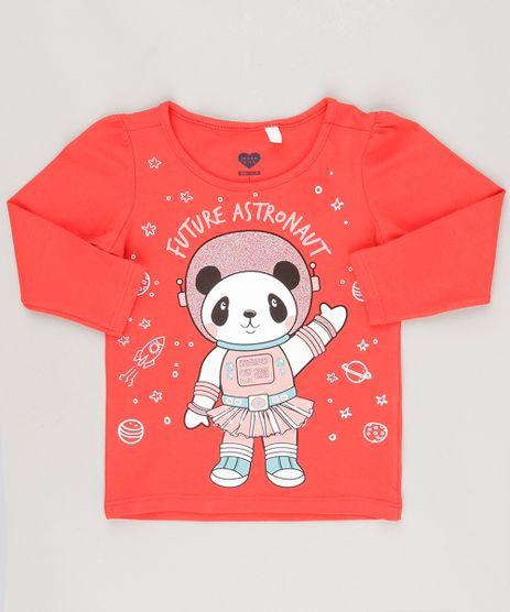 Blusa--Future-Astronaut--com-Glitter-em-Algodao---Sustentavel-Vermelha-9043779-Vermelho_1