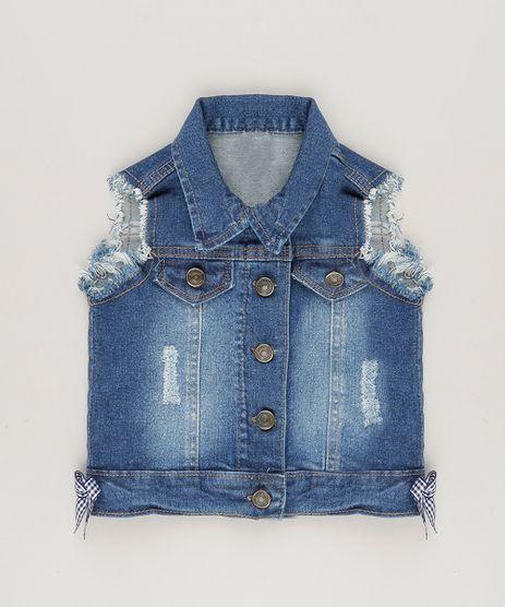 Colete-Jeans-com-Lacinhos-Azul-Escuro-9083215-Azul_Escuro_1