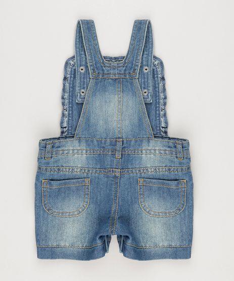 Jardineira-Jeans-com-Babados-em-Algodao---Sustentavel-Azul-Escuro-8773641-Azul_Escuro_2