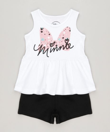 Conjunto-Minnie-de-Regata-Branca---Short-em-Moletom-Preto-9108049-Preto_1