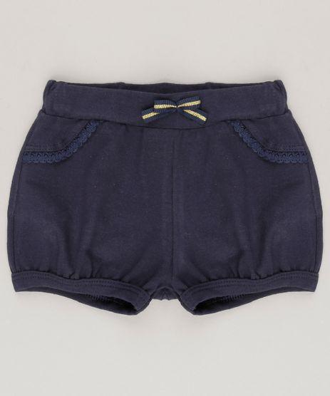 Short-Infantil-Basico-em-Algodao---Sustentavel-Azul-Marinho-9058483-Azul_Marinho_1