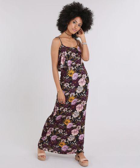 Vestido-Longo-Estampado-Floral-Preto-9022648-Preto_1