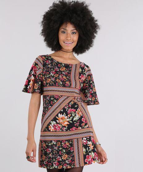 Vestido-Estampado-Floral-Preto-8850314-Preto_1
