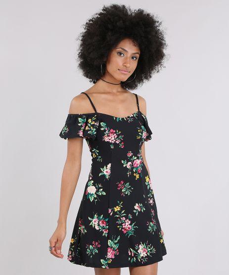 Vestido-Open-Shoulder-Estampado-Floral-Preto-9033237-Preto_1