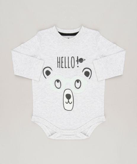 Body-Infantil-Urso-com-Oculos-Interativo-Manga-Longa-em-Algodao---Sustentavel-Cinza-Mescla-Claro-8880234-Cinza_Mescla_Claro_1