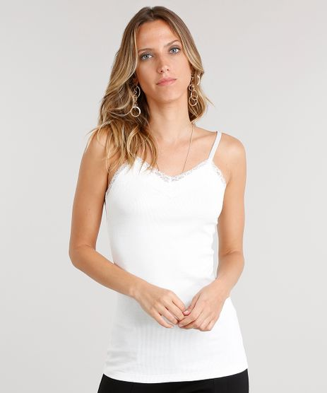 Regata-Feminina-Basica-com-Renda-Off-White-8497036-Off_White_1