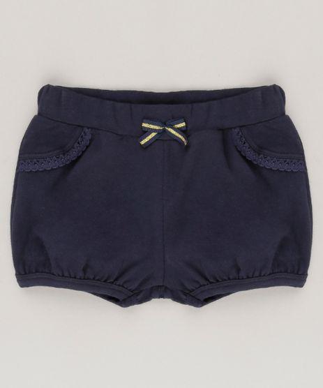 Short-Infantil-Basico-em-Algodao---Sustentavel-Azul-Marinho-9058484-Azul_Marinho_1