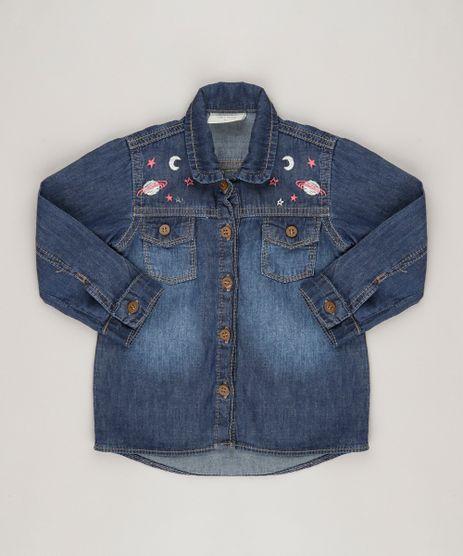 Camisa-Jeans-Infantil-com-Bordado-Azul-Medio-9062169-Azul_Medio_1
