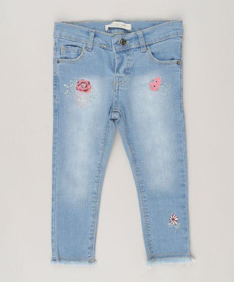 Calca-Jeans-Infantil-com-Bordados-Florais-Azul-Claro-9062164-Azul_Claro_1